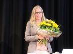 Stellvertretend geehrt für alle Helfer hinter den Kulissen: Monique Baldinger von der AGVS-Geschäftsstelle.