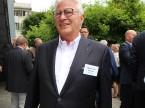 Genoss den Apéritif im Garten: Walter Hasler von der Walter Hasler AG.