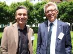 Nachfolge als Thema: Albin Rüeger von der Auto Rüeger AG und Peter Baschnagel von der E. Baschnagel AG.