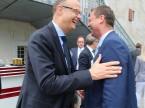 Immer nahe am Kunde: ESA-CEO Giorgio Feitknecht (links).