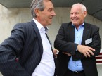 Thema Golf: Fritz Bosshard und Kurt Aeschlimann.